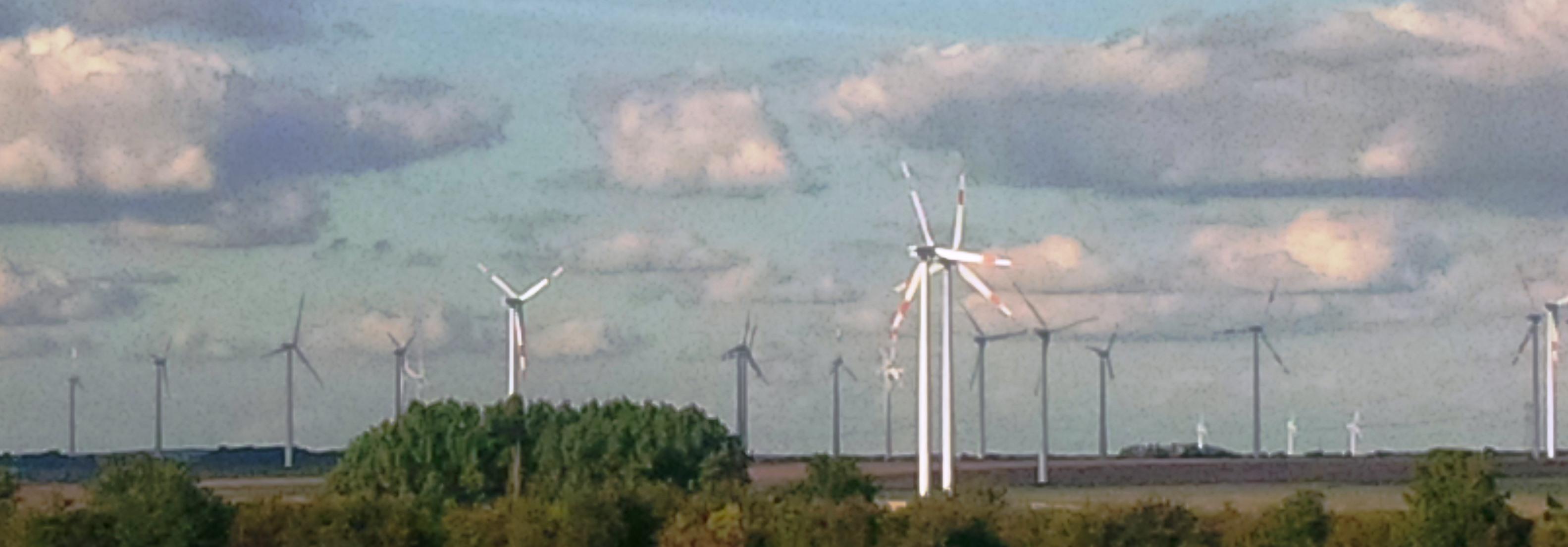 Windpark in Brandenburg - Foto © Solarify