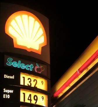 Benzinpreise an einer Tankstelle - Foto © Gerhard Hofmann für Solarify