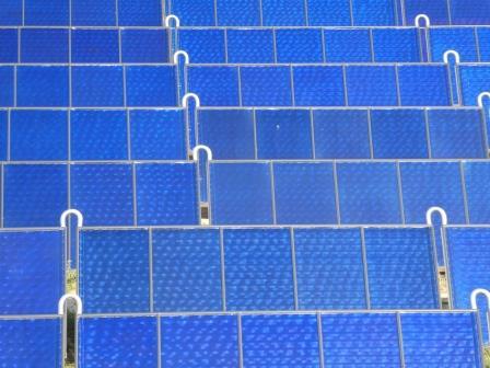 Solarthermie im Süden-Berlins - Foto © Gerhard Hofmann, Agentur Zukunft für Solarify