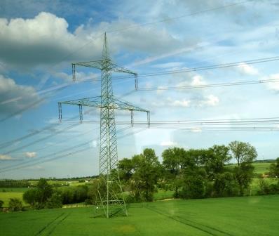 Mast der Strombrücke Thüringen - Foto © Agentur Zukunft für Solarify