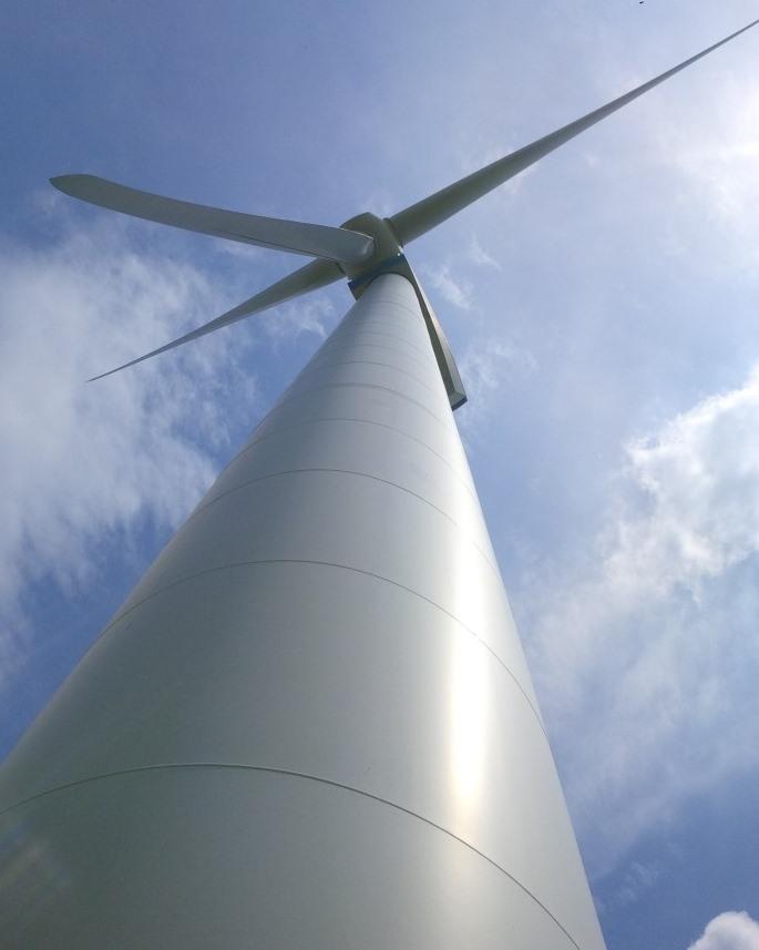 Windgenerator - Foto © Agentur Zukunft für Solarify