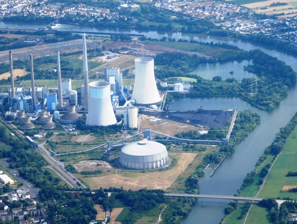 Uniper-Kohlekraftwerk Staudinger, Großkrotzenburg, Main - Foto © Gerhard Hofmann, Agentur Zukunft für Solarify