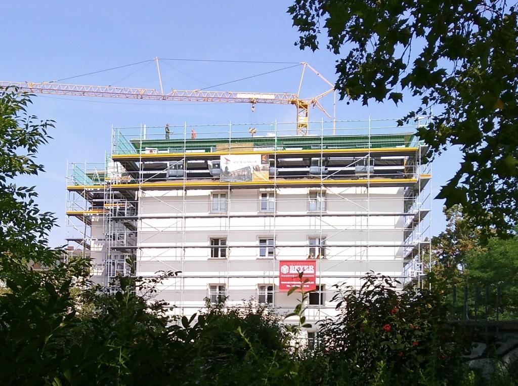 Sanierungsmaßnahme in Berlin - Foto © Gerhard Hofmann für Solarify
