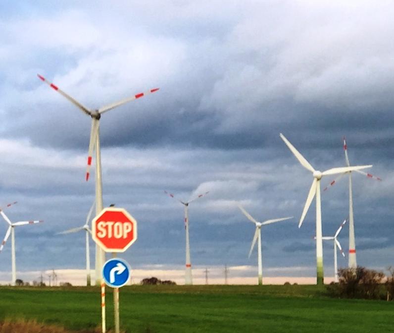 Windenergieanlagen - Foto © Gerhard Hofmann, Agentur Zukunft für Solarify