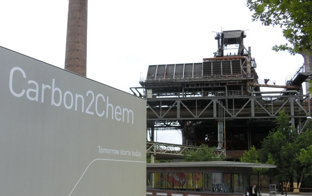 Carbon2Chem - altes Stahlwerk Thyssen - Foto © Gerhard Hofmann, Agentur Zukunft für Solarify
