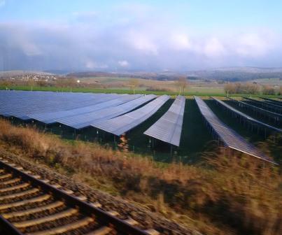 PV-Feld in MIttelfranken - Foto © Agentur Zukunft für Solarify