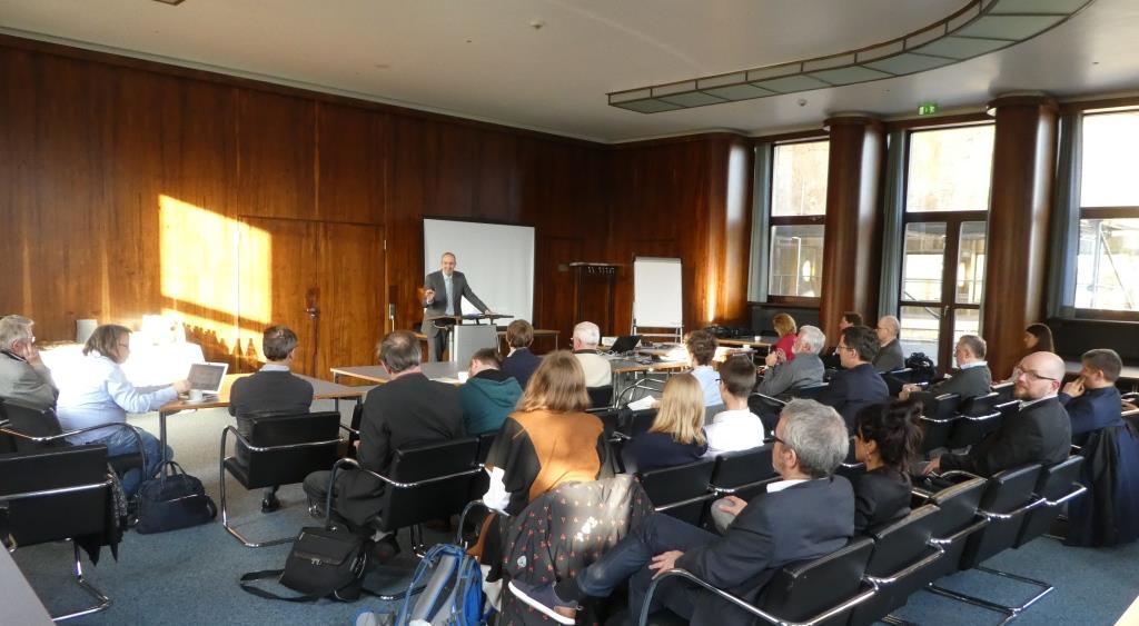 Die EZB-Tagung im Eisenhower-Saal - Foto © Gerhard Hofmann, Agentur Zukunft für Solarify