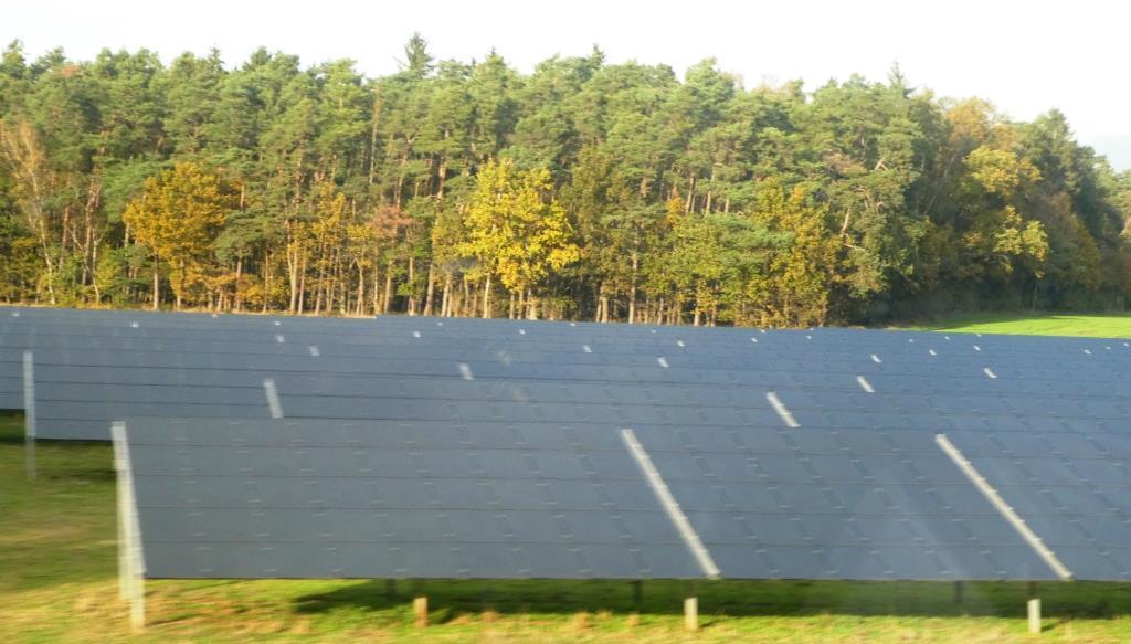 PV bei Ansbach - Foto © Agentur Zukunft für Solarify