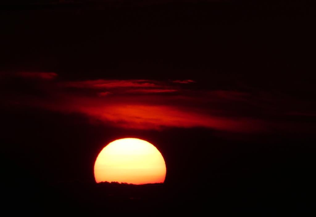 Sonnenuntergang am Wannsee, Berlin - Foto © Gerhard Hofmann, Agentur Zukunft für Solarify