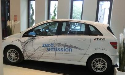 Wasserstoff-Auto der NOW - Foto © Gerhard Hofmann für Solarify