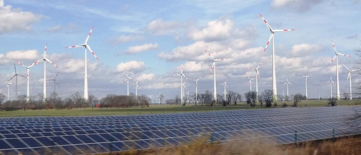 PV und Wind, Mark Brandenburg - Foto © Gerhard Hofmann, Agentur Zukunft für Solarify