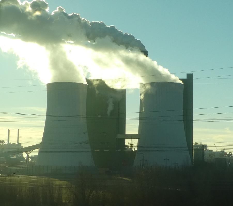 Kohlekraftwerk Schkopau - Foto © Agentur Zukunft für Solarify