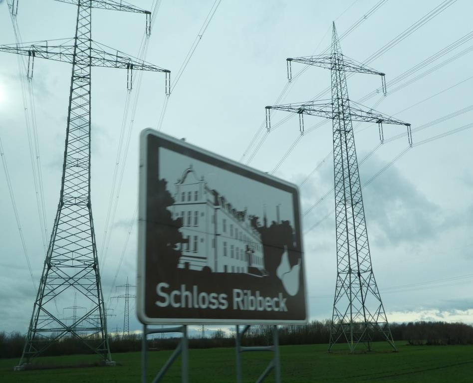 Strommasten bei Ribbeck im Havelland - Foto © Agentur Zukunft für Solarify