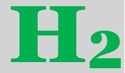 H2 grün - Symbol