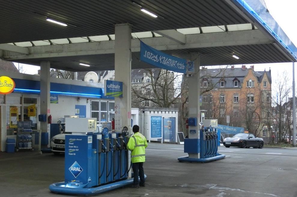 Tankstelle - Foto © Gerhard Hofmann für Solarify