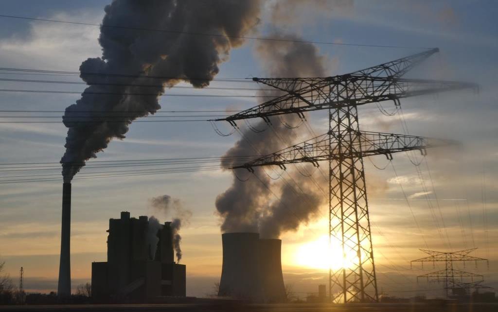 Rauch und CO2 - Kohlekraftwerk Schkopau, Uniper - Foto © Gerhard Hofmann für Solarify